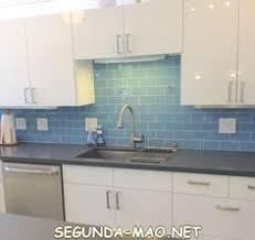 tiles backsplash kitchen best backsplash for cabinets sky blue glass subway tile
