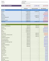 Excel Personal Budget Template Personal Budget Excel Templates