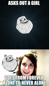 Forever Alone Girl Meme - the grass isn t always greener on the other side imgflip