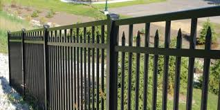 decorative aluminum fences ornamental aluminum fence at nobility