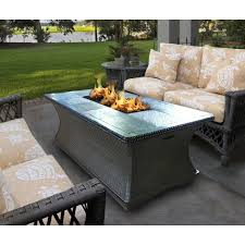 California Fire Pit by Outdoor Concepts Monterey Coffee Table Fire Pit