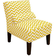 Colorful Accent Chairs by Amazon Com Skyline Furniture Armless Chair In Zig Zag Grey