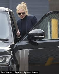 Seeking Series Pepito Kidman Shows Legs As She Jets Into Sydney With