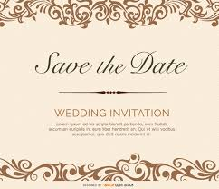 free save the date cards save the date flourish card vector free