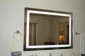 Contemporary Vanity Mirrors Bathroom Amazing Lighted Vanity Mirror Wall Mount Makeup Battery