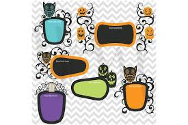 halloween frame clipart illustrations creative market