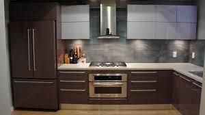 Purple Kitchens by Bauformat Modern Grey U0026 Distressed Wood Wall Mounted Kitchen
