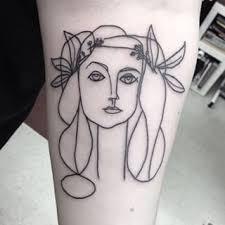 picasso head of woman tattoo szukaj w google tattoos