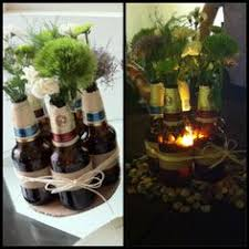 Beer Centerpieces Ideas by 20 Wine Bottle Decor Ideas To Steal For Your Vineyard Wedding