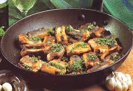 cuisiner une anguille fricassée d anguilles recettes cuisine française