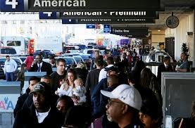 thanksgiving for job offer catching a flight at lax for thanksgiving get there early la times