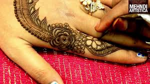 easy arabic henna designs simple mehndi design for hands step by