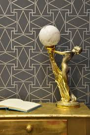 Planet Gold Decor How To Get Gatsby Style Decor With A Stencil Design Inspiration