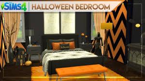 halloween bedroom cc list the sims 4 halloween themed room