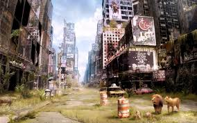 abandoned times square in new york 32202 illustration wallpapers