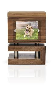 modern wood modern pet urns for ashes terra amici urns in style