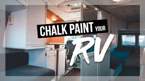 what is the best paint for rv cabinets how to chalk paint your rv interior cabinets roadtrek