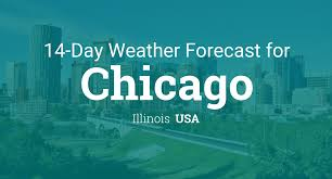 Show Me The Weather Map Chicago Illinois Usa 14 Day Weather Forecast