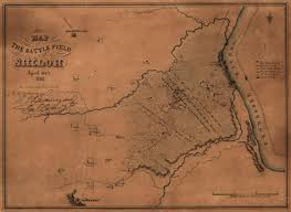 Pre Civil War Map Of United States by The Battle Of Shiloh Civil War Trust