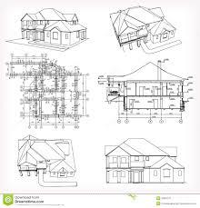 Blue Print Of House Baby Nursery Blueprint House Blueprint Of House White From