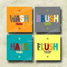 20 best collection of kids bathroom wall art wall art ideas