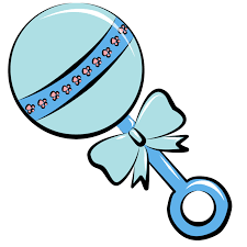 baby rattle free baby shower clipart clipartpost