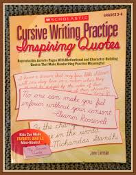 inspiring quotes cursive writing practice my review the
