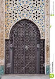 ornamental door stock image image of design color ceramic 4555211