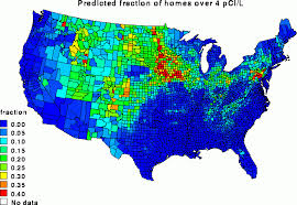 seattle map test radon gas should i test for it in seattle home inspector guide