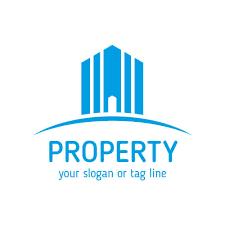 estate property company logo templates vector free download
