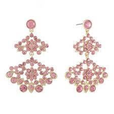 Chandelier Earings Monet Jewelry Pink Chandelier Earrings Jcpenney