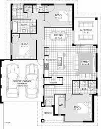 floor plans for 1 story homes house plan fresh 3 bedroom ensuite house plans 3 bedroom ensuite
