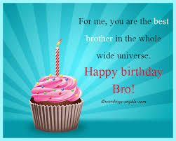 Happy Birthday Wish You All The Best In Birthday Wishes For Brother Wordings And Messages