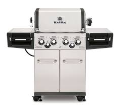 regal kitchen pro collection broil king regal 490 pro 4 burner gas grill with side burner