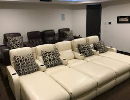 home theater seating dimensions home theater seating not just for the home theater electronic house