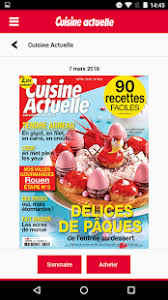 cuisine actuelle cuisine actuelle le magazine android apps on play