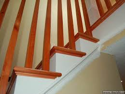how to redo old stairs and building a new railing