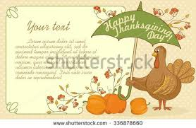 turkey thanksgiving basket fruits stock vector