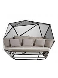dossier canapé canapé trois places avec dossier haut driade khaima design