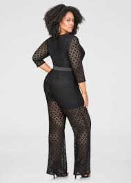 stewart jumpsuits crochet lace boyshort jumpsuit plus size jumpsuits stewart