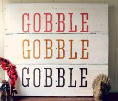 gobble gobble sign