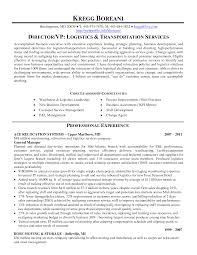 Logistics Resume Sample by Logistics Resume Keywords Resume For Your Job Application