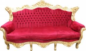 sofa master furniture casa padrino baroque sofa master bordeaux red gold mod2 living