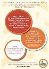 donate food for thanksgiving thanksgiving basket brigade children u0027s diagnostic u0026 treatment center