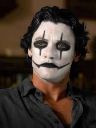 luke evans the crow make up concept by vj