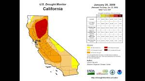 california drought map january 2016 california drought monitor time lapse
