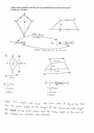 Area Formula by Measurement And Geometry Equal Areas U2013 Ws8 The Australian