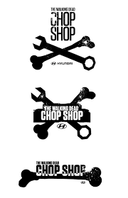 hyundai logos the chop shop logo zombie survival machine