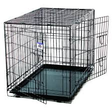 Truck Bed Dog Crate Pet Lodge Wire Crate Double Door By Pet Lodge At Mills Fleet Farm