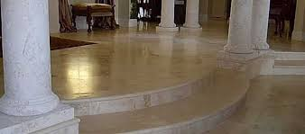 maintaining marble floor